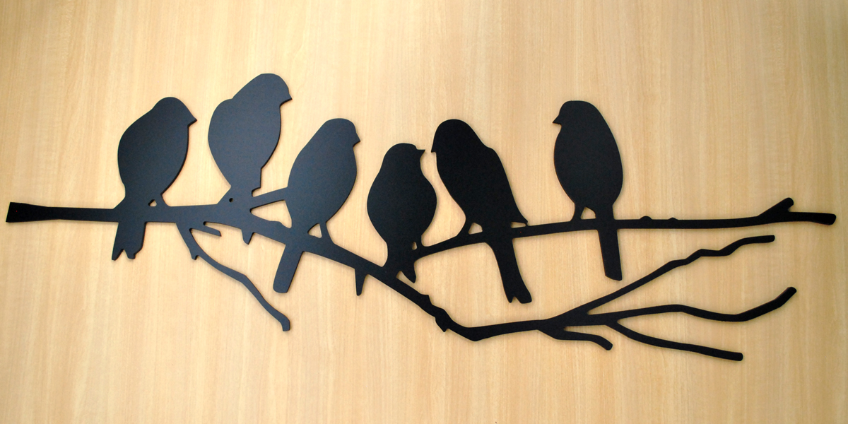 Birds on a Branch – Wall Décor – Zoomer Display